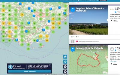 Carte des Activités Touristiques