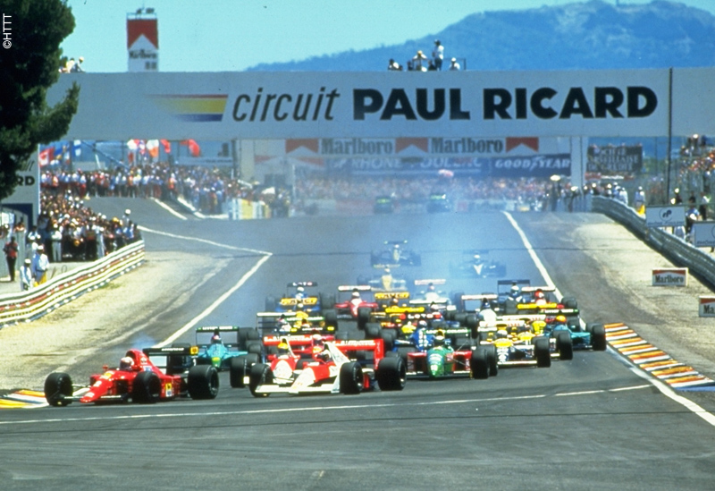 Grand prix Formula 1 in Le Castellet