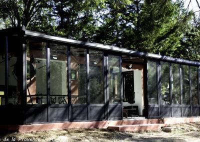 cuisine veranda bastide de la provence verte