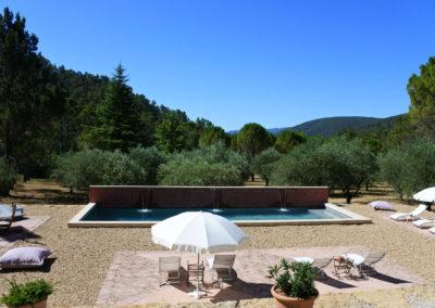 piscine maison d'hote en provence