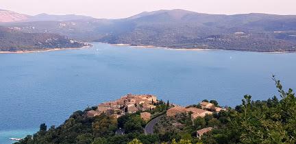 Lac de Ste Croix en Provence